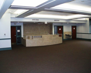 Narthex Looking at Gift Shop - Completed