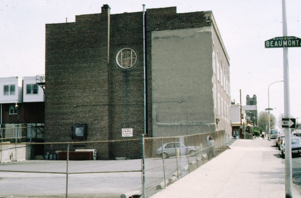 View of the Existing Facility prior to Construction