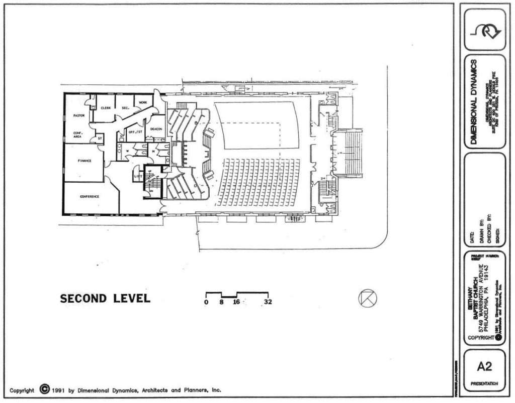 Main Level of Proposed Addition