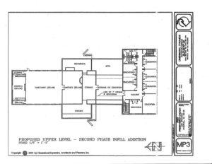 2002 REVISED MASTER PLAN - UPPER LEVEL